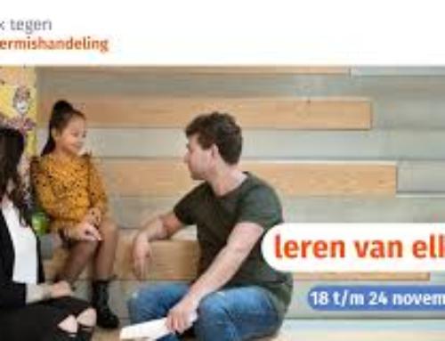 Week tegen kindermishandeling 2019